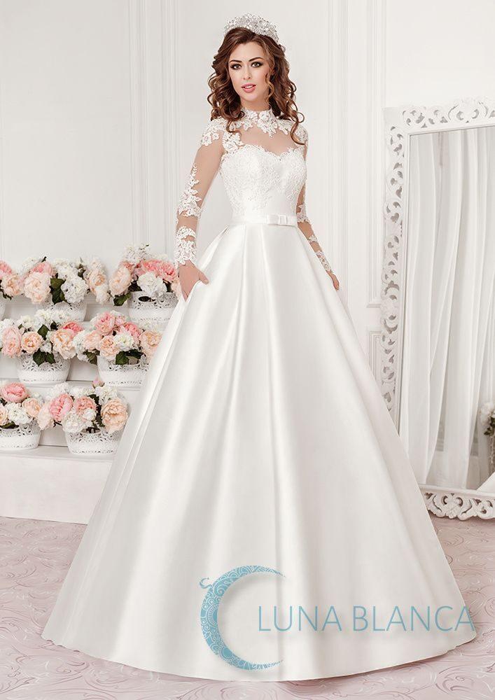 Свадебные платья luna blanca